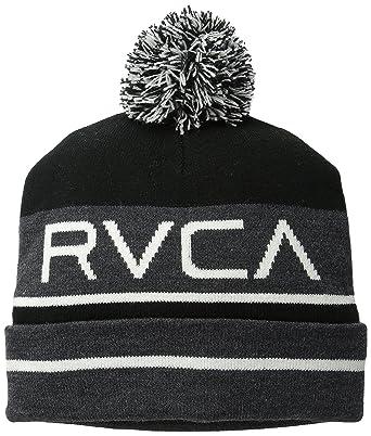 af2daeed3efe Amazon.com: RVCA Men's Range Beanie, Black, One Size: Clothing