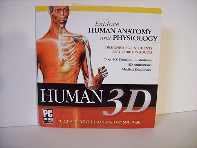 Amazon Human 3d Explore Human Anatomy And Physiology Cd Rom