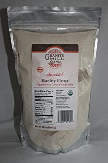 product image for Stone Ground Sprouted Organic Barley Flour, 30 oz