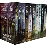 The Dr Ruth Galloway Mysteries 10 Books Box Set by Elly Griffiths - The Dark Angel, A Room Full of Bones, The Outcast Dead, The Janus Stone, The Ghost Fields, The Crossing Places, A Dying Fall