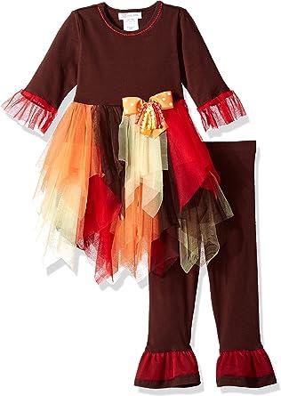 Bonnie Jean Girls Bunny Appliqued Knit Playwear Set