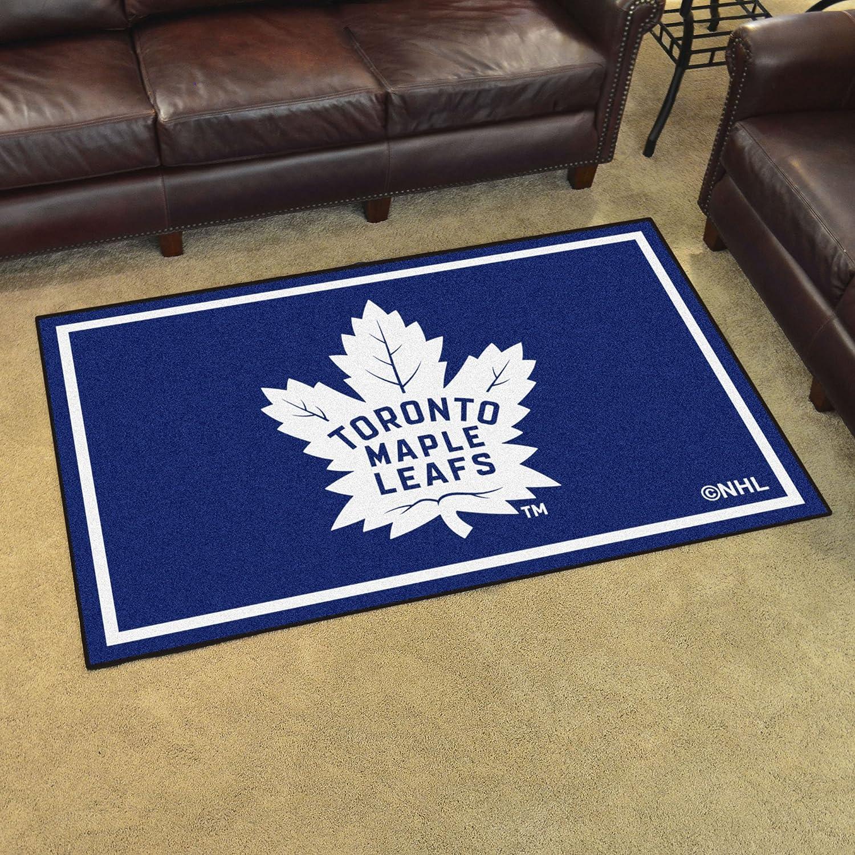 FANMATS NHL Toronto Maple Leafs Nylon Face Tailgater Rug