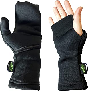 product image for Turtle Gloves Midweight Convertible Running Mittens for Winter