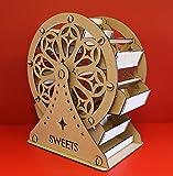Ferris wheel sweet cart classic design, 48cm model Sweets version