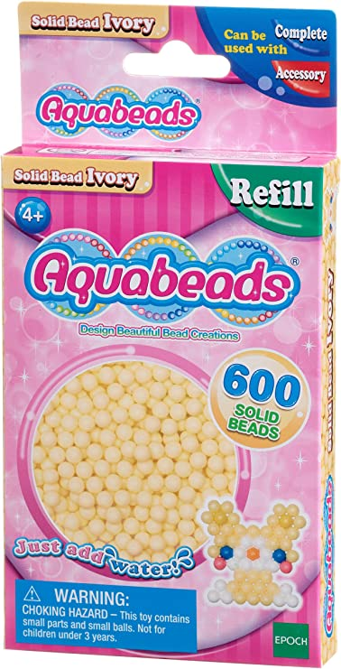 Light Brown Aquabeads 32608 Solid Bead Pack