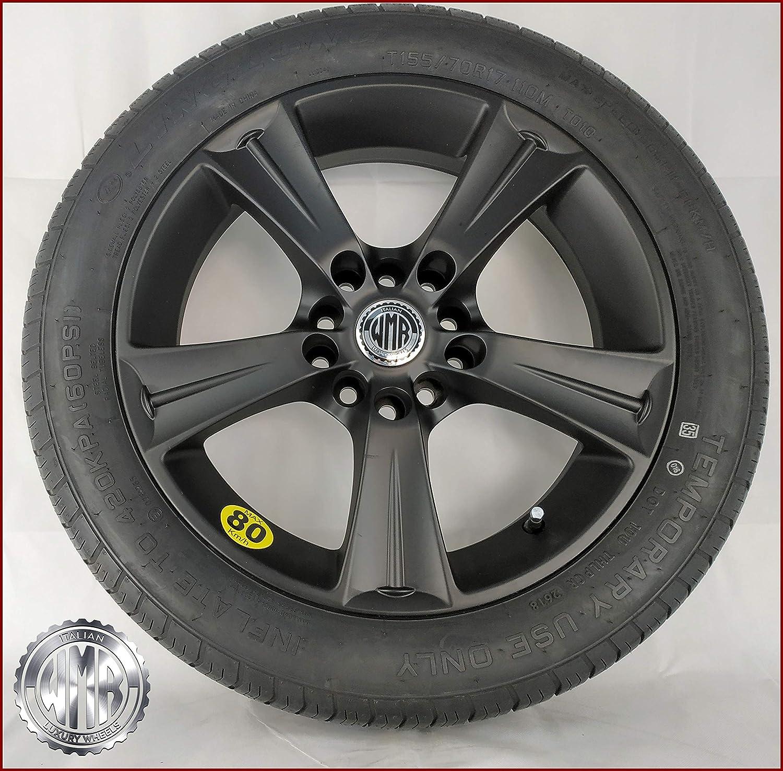 Neum/ático 155/70/R17/para Volkswagen Tiguan sp155112/rueda de repuesto de aleaci/ón