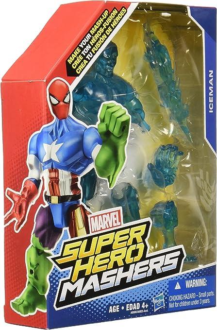 ICEMAN super hero mashers marvel mash-up ice man NEW action figure mashup