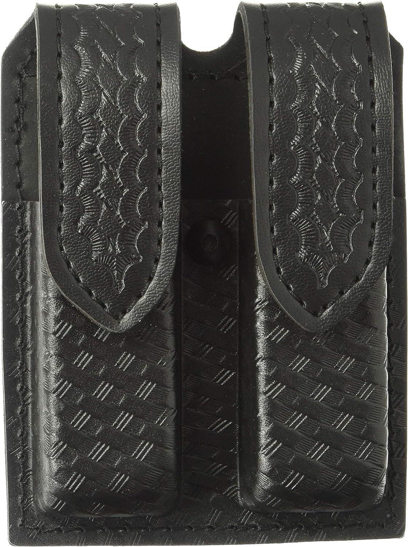 Safariland Basket Weave Glock 20//21 Double Magazine Pouch w// Hidden Snaps