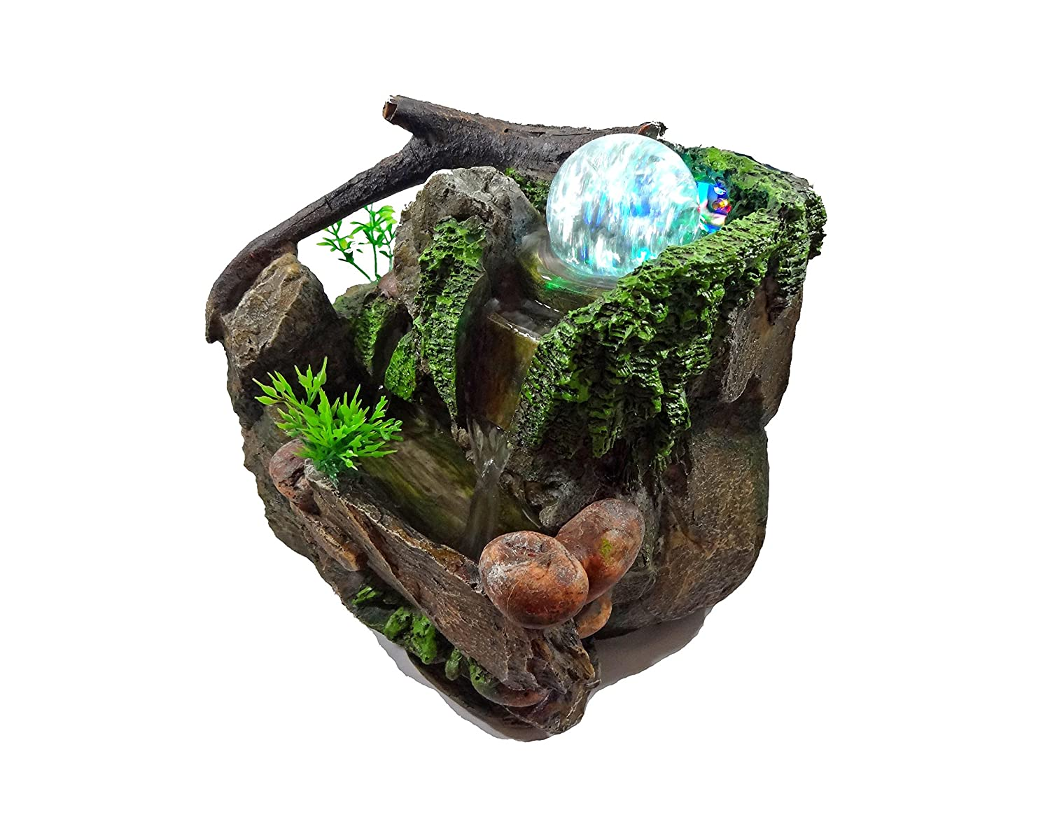 GiftsRDecor Tabletop Fountain Natures Rocky Waterfall 10418