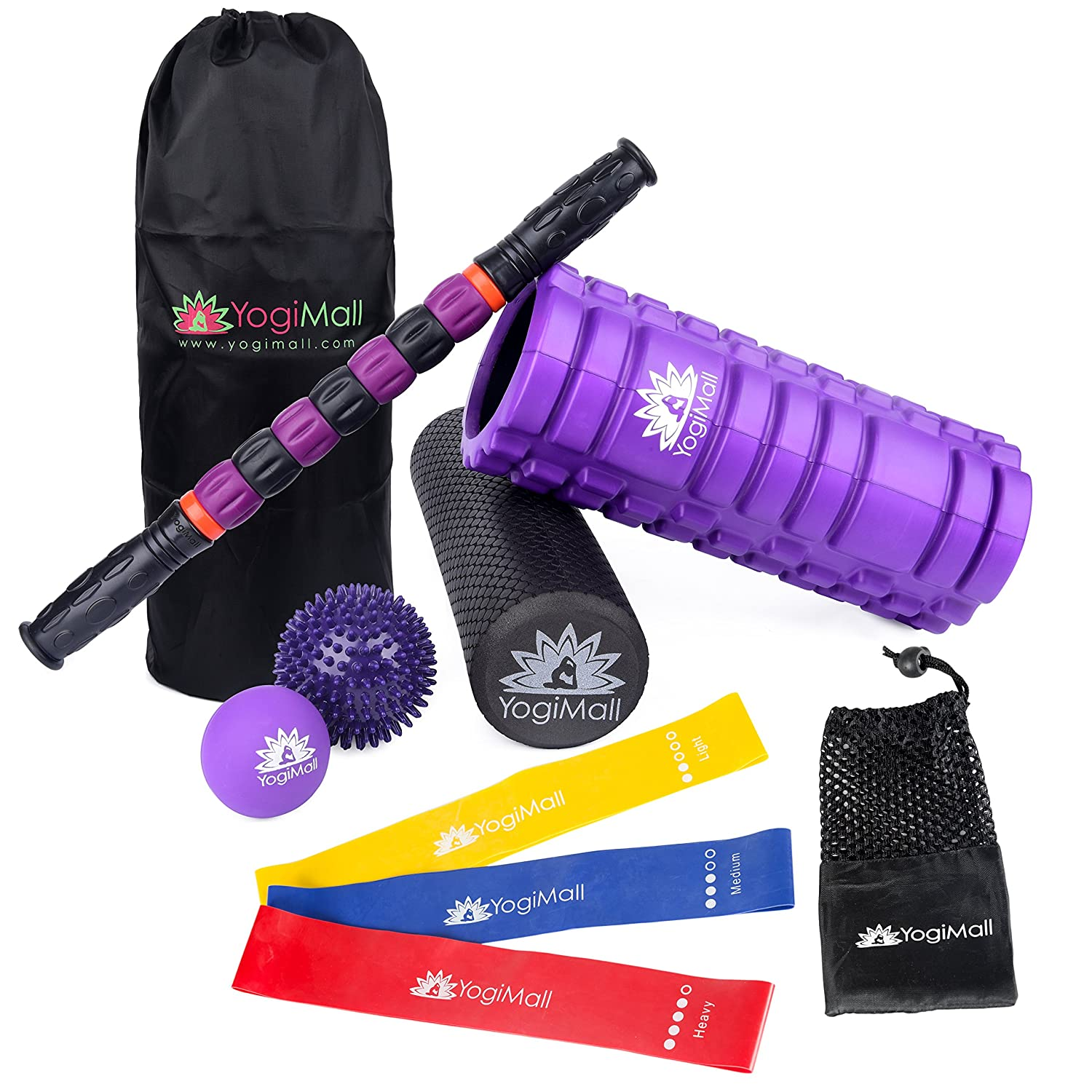 Massage & Fitness 10-Piece All-In-One Mobility Kit
