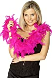 Smiffy's Women's Feather Boa, Black 59inches, 50g, 30864 (US)