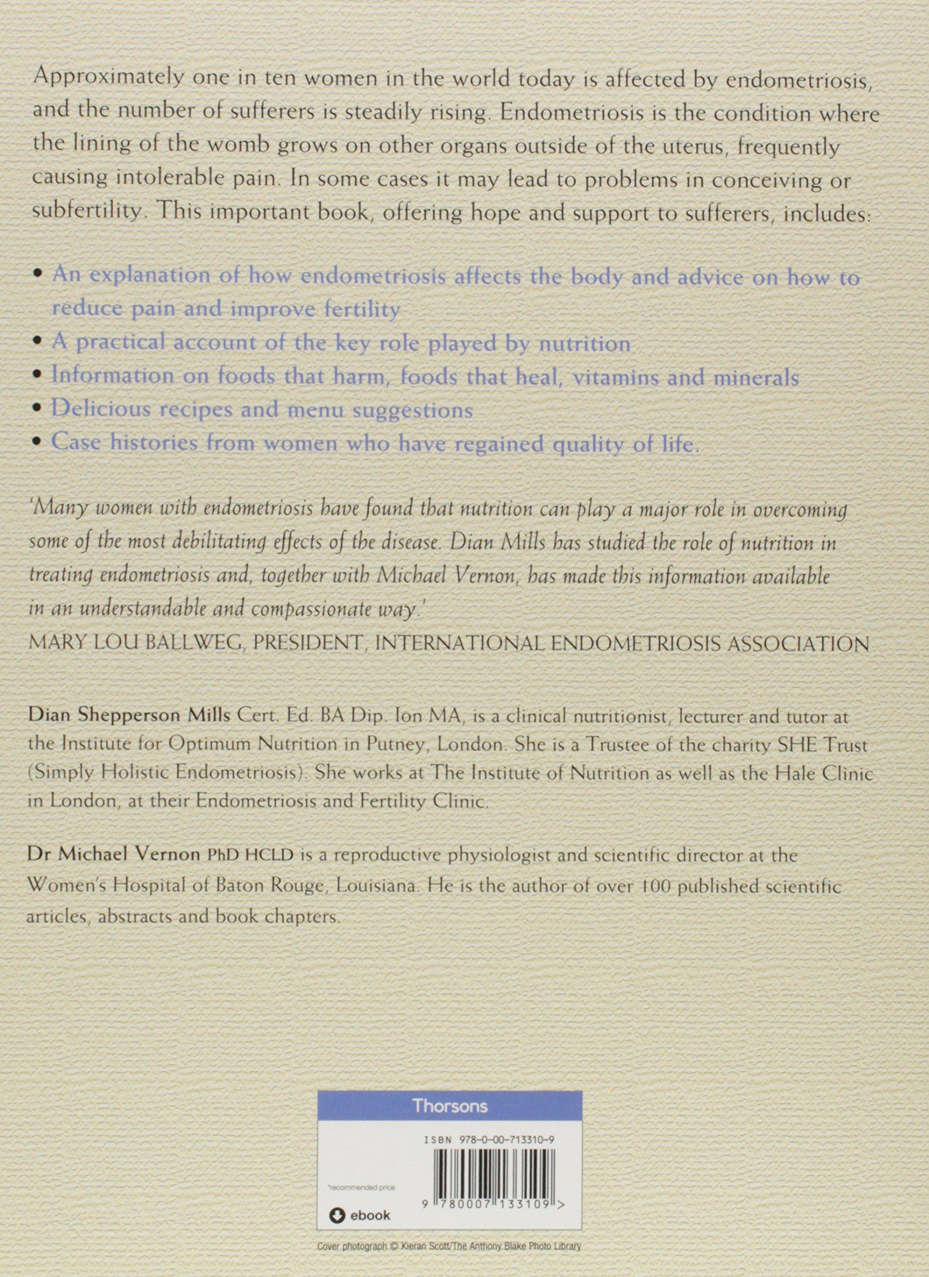 Endometriosis a key to healing through nutrition michael vernon endometriosis a key to healing through nutrition michael vernon dian shepperson mills amazon libros forumfinder Images