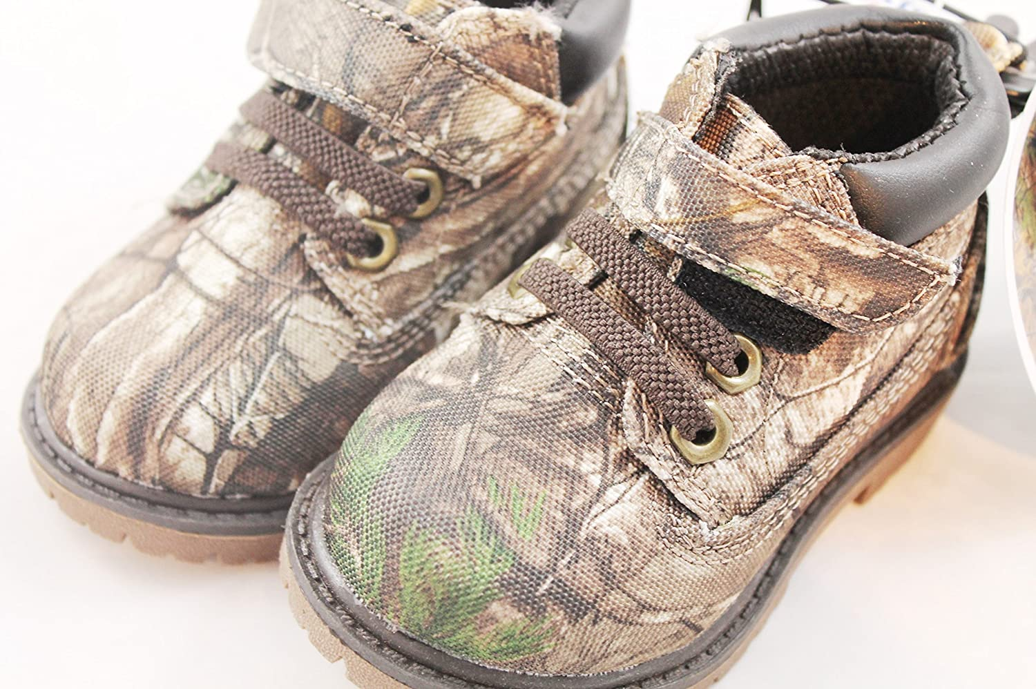 31432ca3670ac Amazon.com | Realtree Garanimals Baby Boys Camouflage Print Hiking Boots  (4) | Shoes