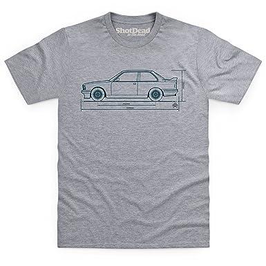 ... pistonheads bimmer e30 sports car t shirt herren de ...