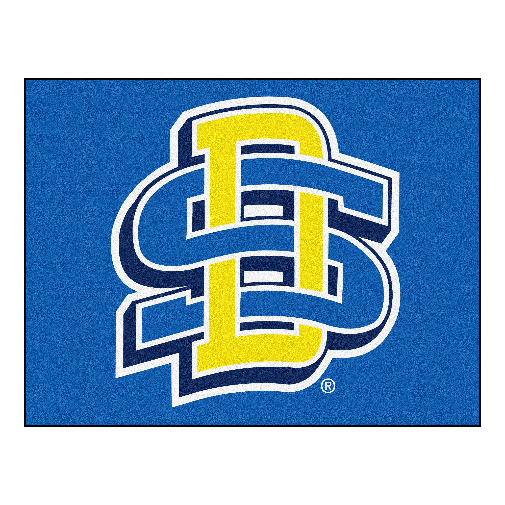 NCAA South Dakota State University Jackrabbits All Star Non-Skid Mat Rectangular Area Rug