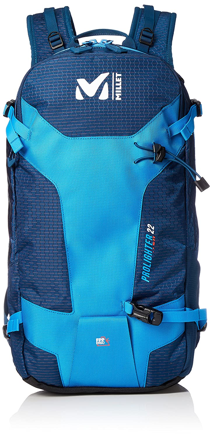 [ミレー] バックパック プロライター 22(PROLIGHTER 22) B0792L1GLG ELECTRIC BLUE/POSEIDON One Size