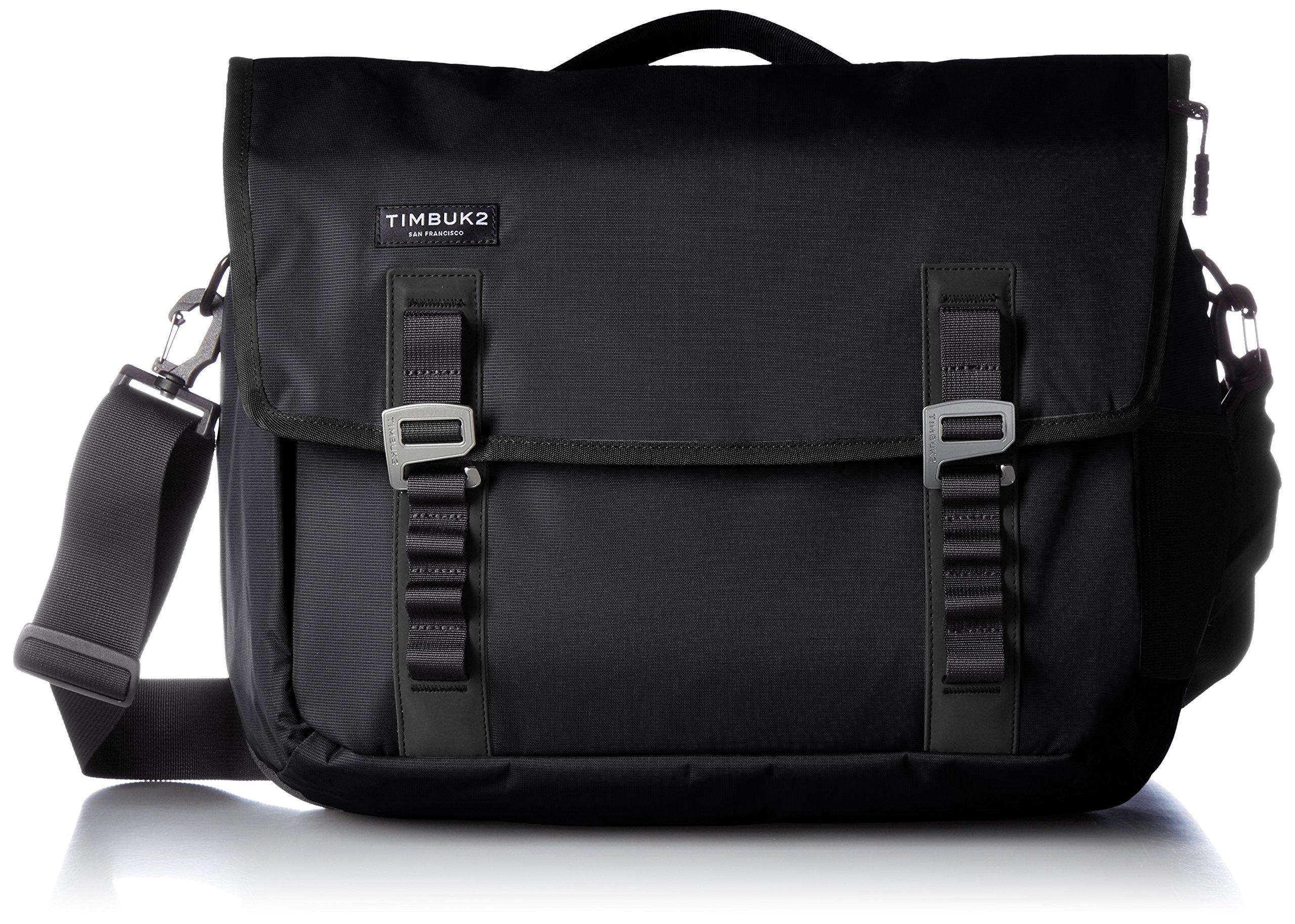 Timbuk2 Command Travel-Friendly Messenger Bag, Jet Black, Medium