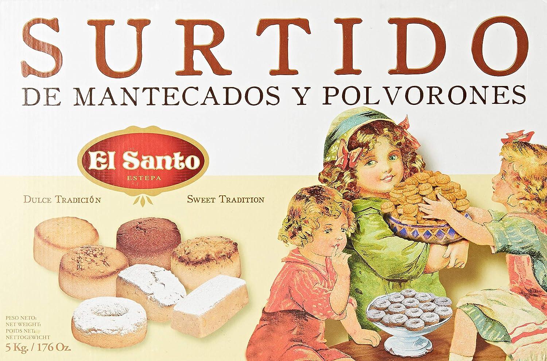 El Santo - Mantecados ganel 5 kg: Amazon.es: Alimentación y ...
