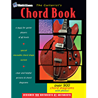 The Guitarist's Chord Book - Over 900 Guitar Chord Diagrams book cover