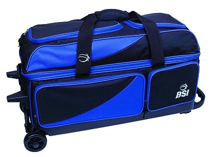 Amazon.com   BSI Triple Ball Roller Bowling Bag 3908524c90f73