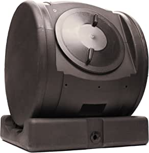 Good Ideas CWET-BLK Compost Wizard EnviroTumbler, Black