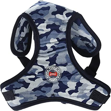 PARA-HC1523 Puppia® Bobby Comfort Harness 2 Colors 4 Sizes