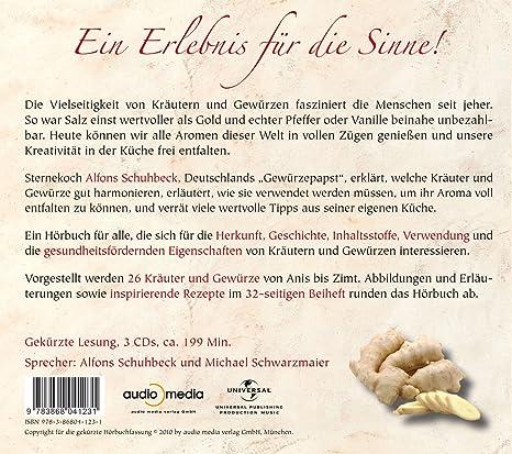 Meine Küche der Gewürze, 3 CDs - Alfons Schuhbeck: Amazon.de: Musik