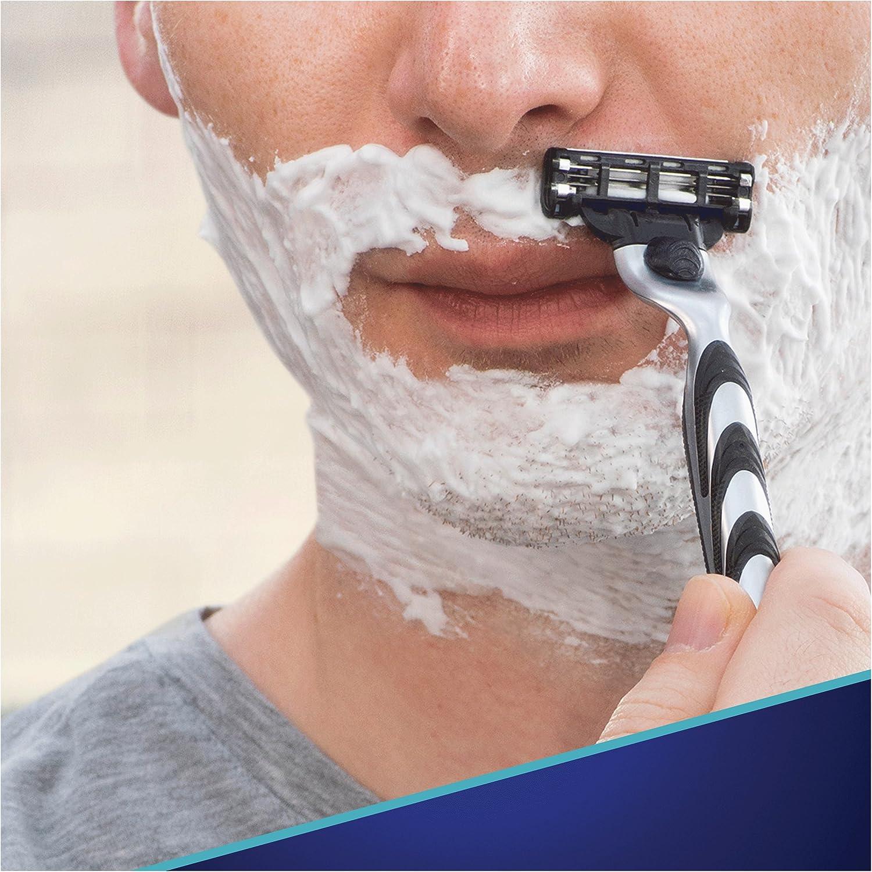 Gillette Mach 3 - Cartuchos de repuesto para cuchillas de afeitar ...