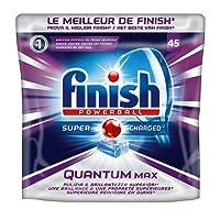 FINISH® Finish a5m Paquet DE 45 tablettes pour Lave-Vaisselle - powerball Quantum