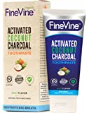 Activated CharcoalTeeth Whitening Toothpaste - Made in USA – REMOVES BAD BREATH andTOOTH STAINS-Best Natural Toothpaste forHerbal Decay Treatment - Mint flavor.
