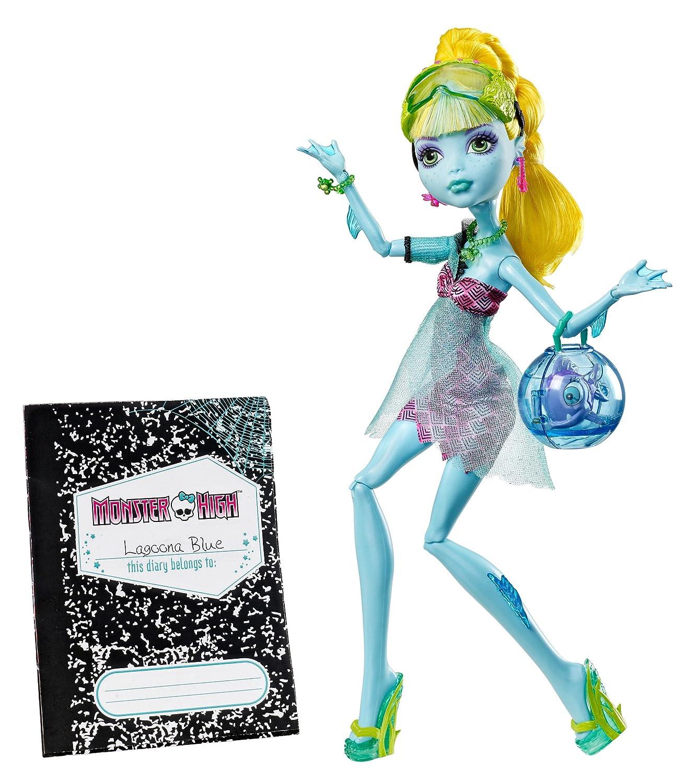 Monster High 13 Wishes Lagoona Blau Daughter Of The Sea Monster Englische Version B00CEQ1HQE Ankleide- & Modepuppen Langfristiger Ruf  | Am wirtschaftlichsten