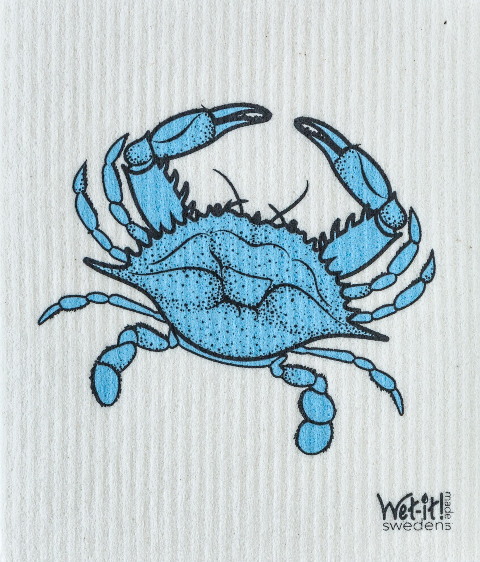Wet-It Swedish Dishcloth Set of 2 (Lobster and Crab) by Wet-It (Image #2)