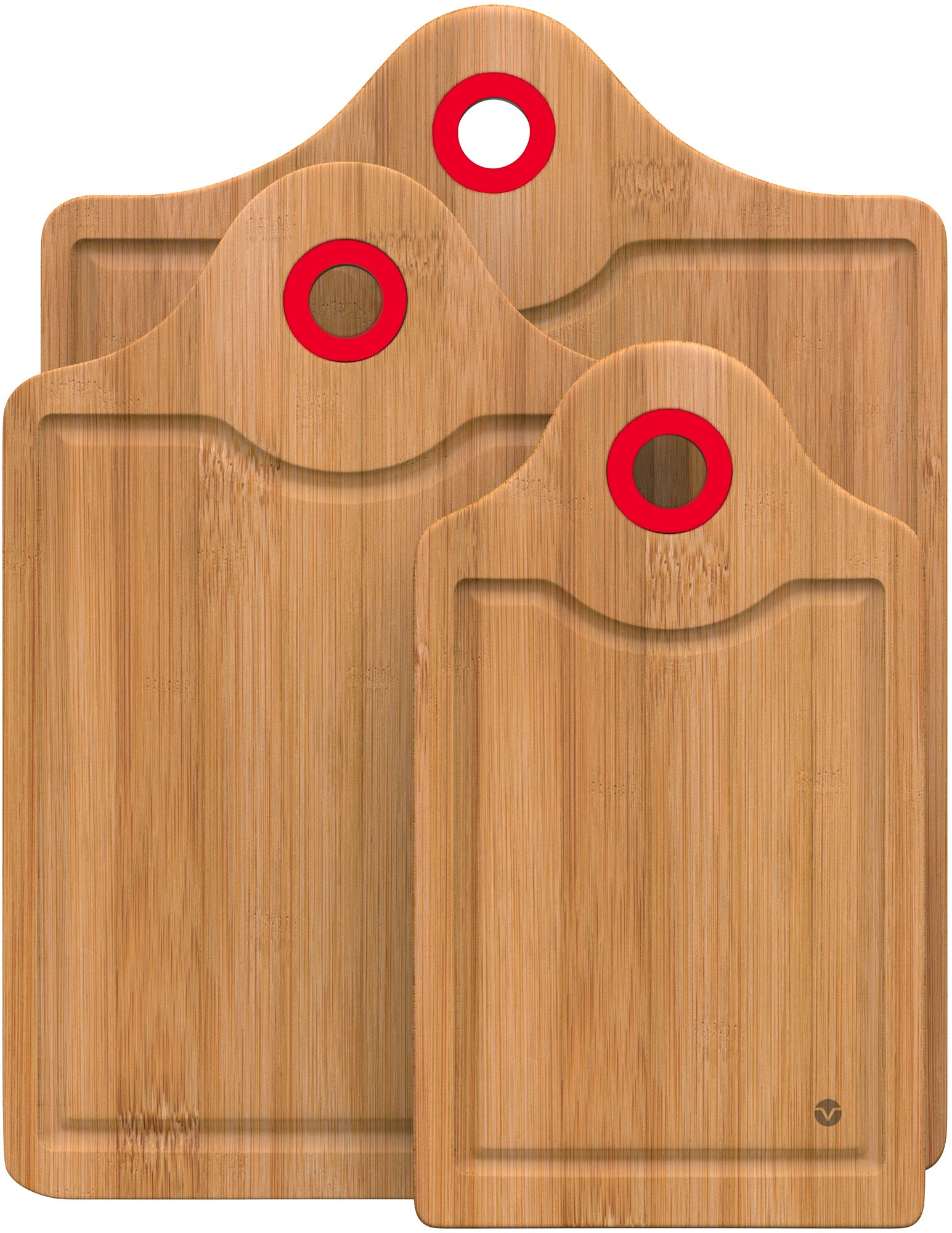 Vremi VRM020022N Cutting-Boards, Red by Vremi