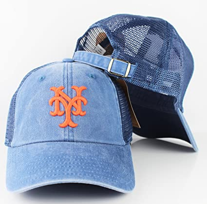 Image Unavailable. Image not available for. Color  American Needle New York  Mets Raglan Bones Soft Mesh Back Slouch Adjustable Hat 75e32374e07d