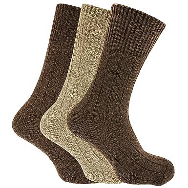 Thick Chunky Walking Work Boot Socks 6 Pairs Of Men/'s Hike Trekking Socks