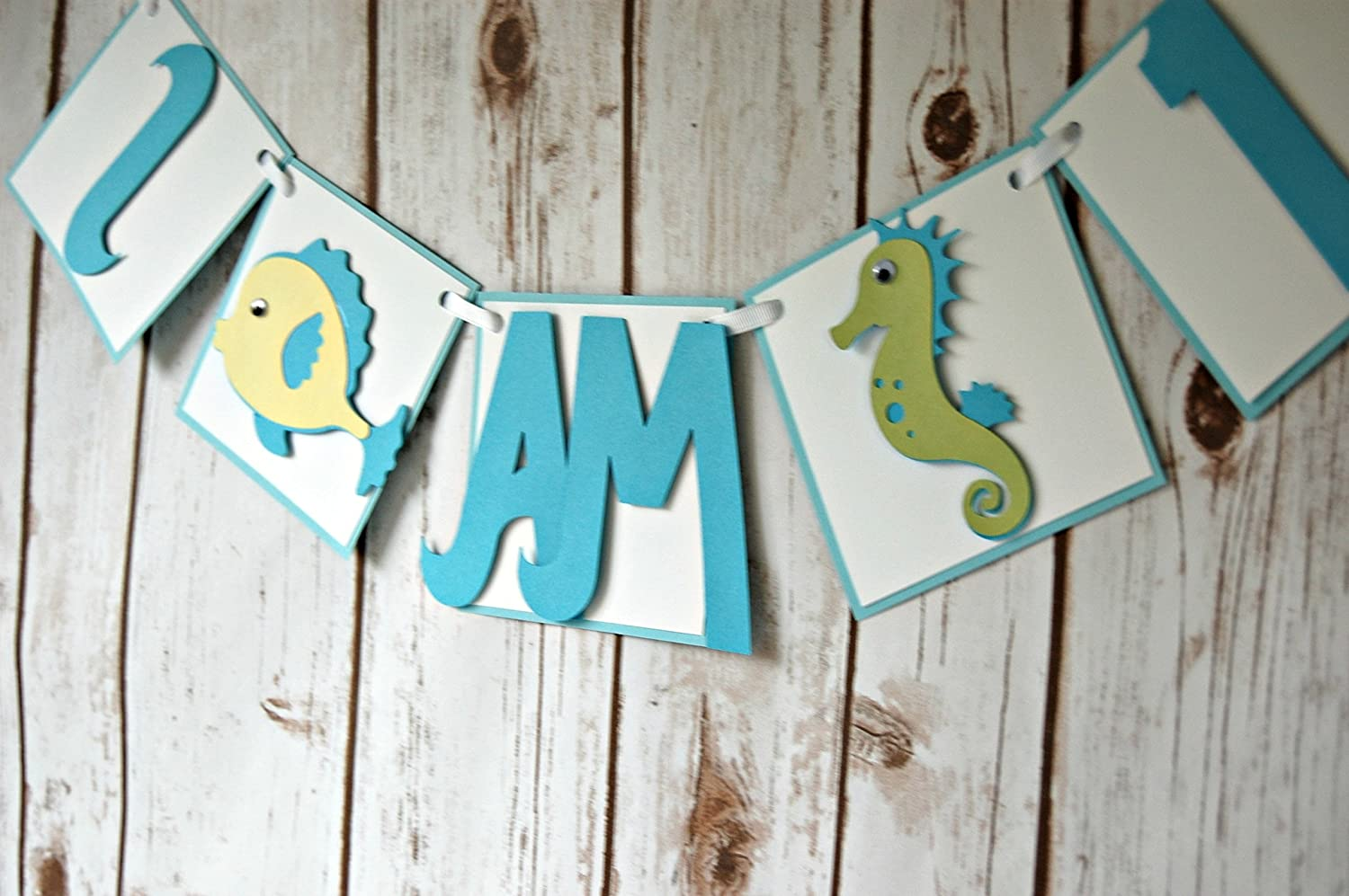 Under the Sea Party Supplies Ribbon Highchair Garland.