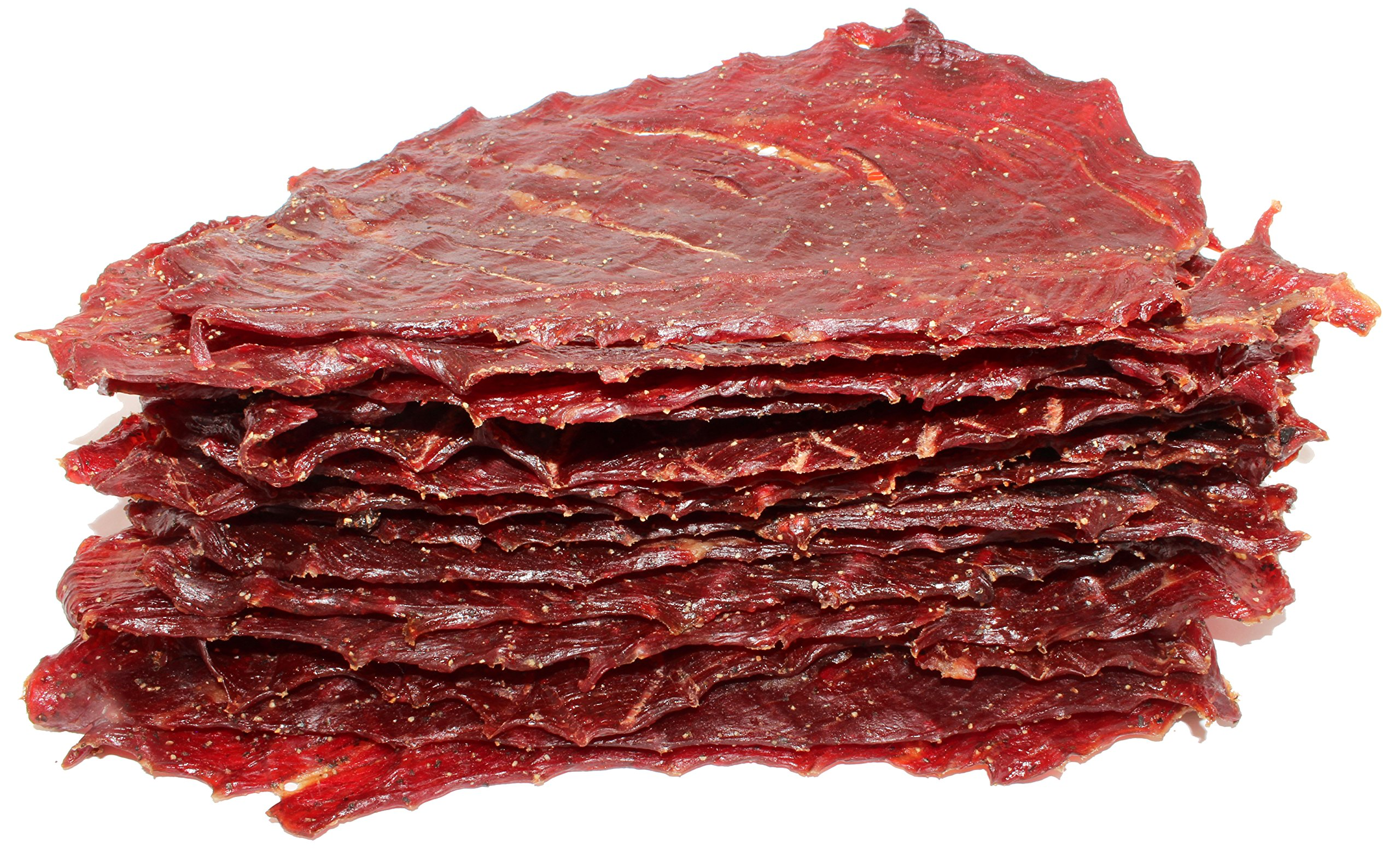 People's Choice Beef Jerky - Classic - Original - Big Slab - Whole Muscle Premium Cuts - High Protein Meat Snack - 15 Count - 1.5 Pound Bag by People's Choice Beef Jerky (Image #2)