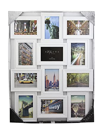 Amazoncom Azzure Home 12 Openings Decorative Wall Hanging Collage