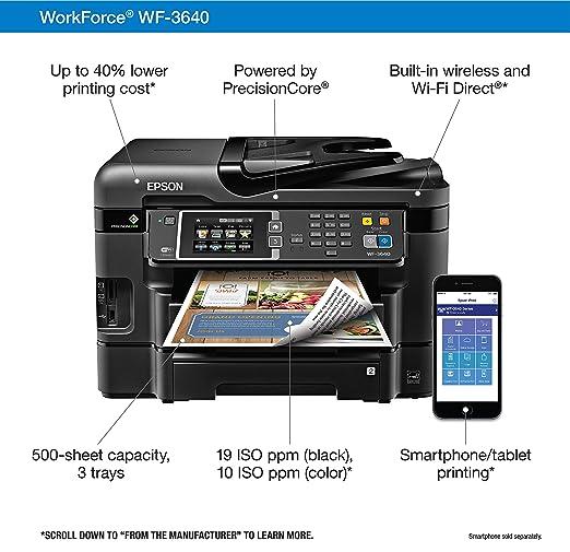 EPSON WF3640 PRINTER DRIVERS PC