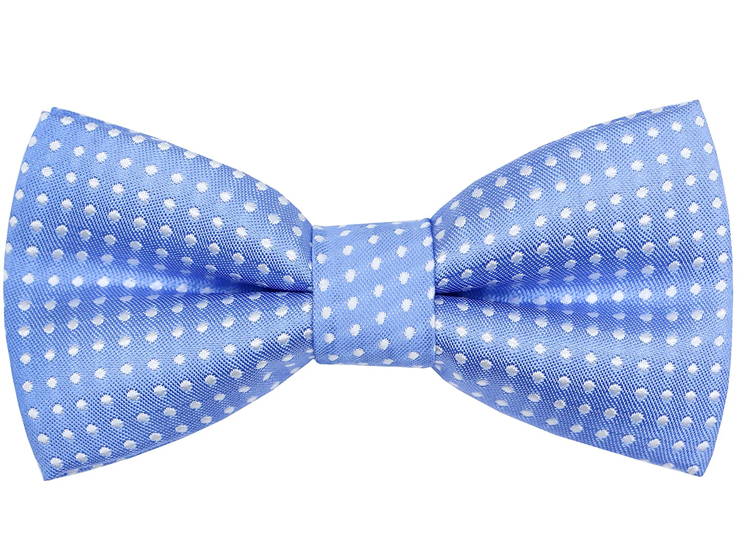 OCIA Pre-tied Bow Tie for Boys Adjustable Polka Dots Bowtie for Toddler Kids OASY21