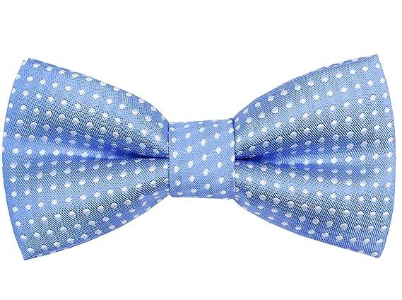 10fc058f5fed Amazon.com: OCIA Little Boys' Classic Polka Dots Bow Tie (Black-White Dots):  Clothing