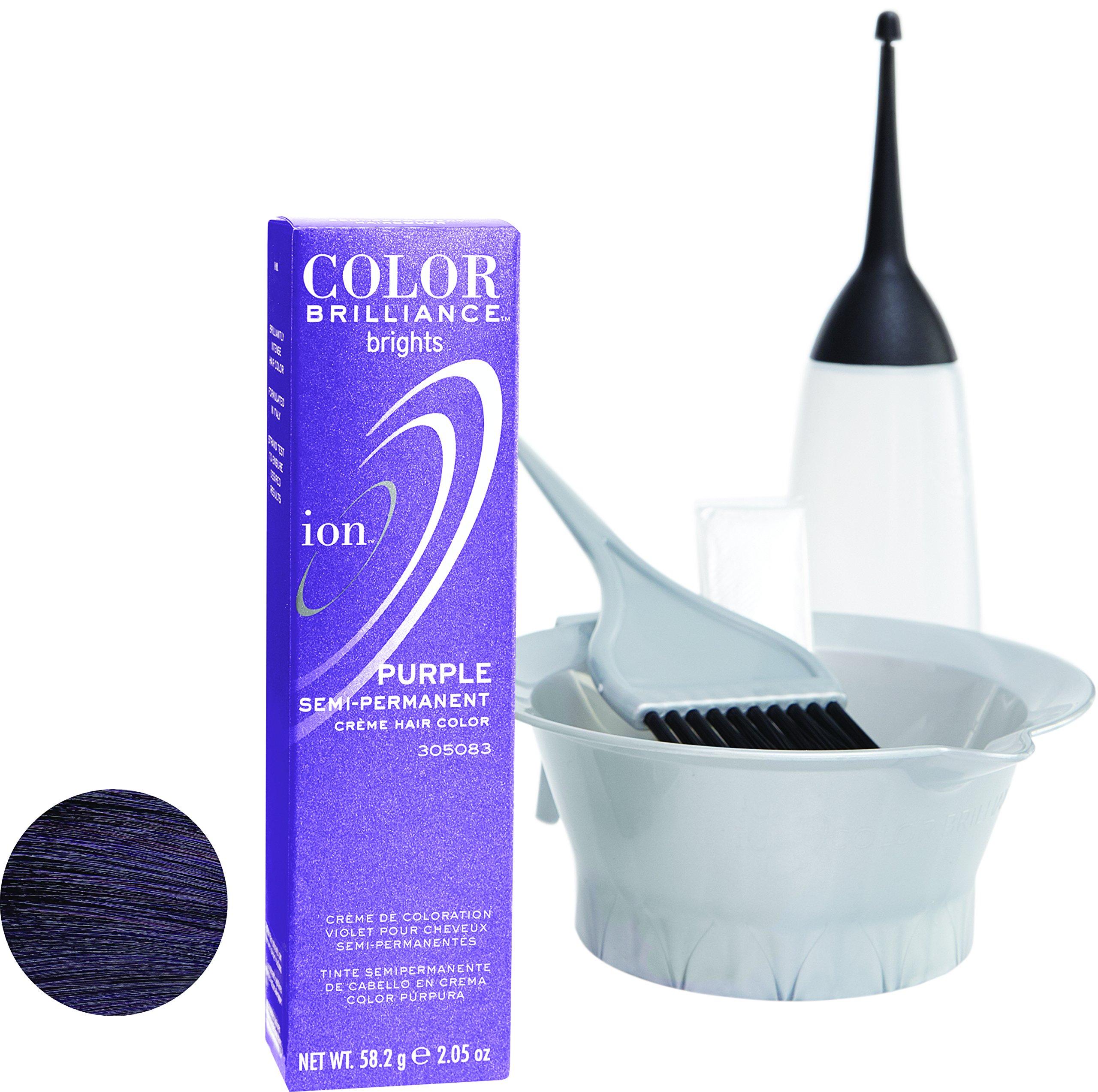 Amazon Ion Sapphire Semi Permanent Hair Color Sapphire Beauty