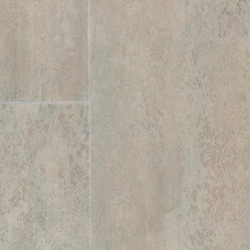 PVC Bodenbelag Steinoptik | Fliesenoptik weiß grau | 200 ...