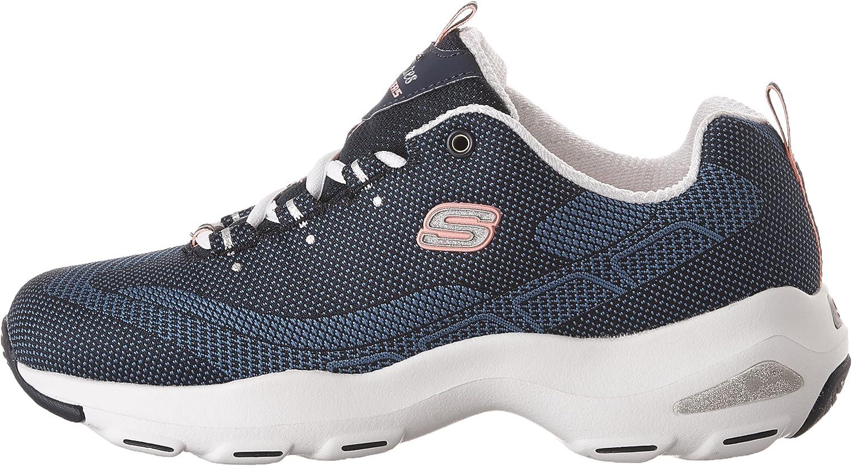 Skechers D'Lite Ultra, Allenatori Donna, Blu (Navy), 37 EU