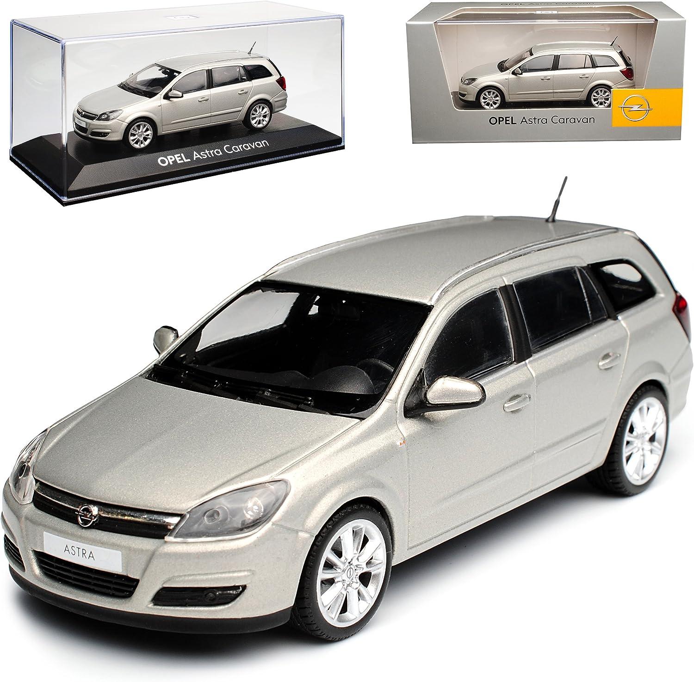 Opel Astra Caravan H Kombi Beige Champagner 2004-2010 1//43 Minichamps Modell Aut