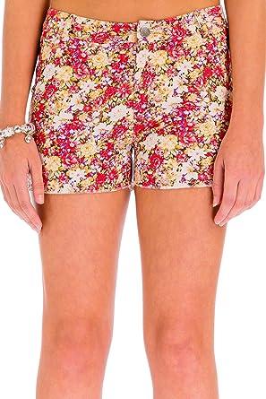 ÇA VA BIEN FASHION] Pantalones Cortos Mujer Estampados ...
