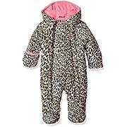 Wippette Baby Girls Cheetah Pram, Cream, 3/6M