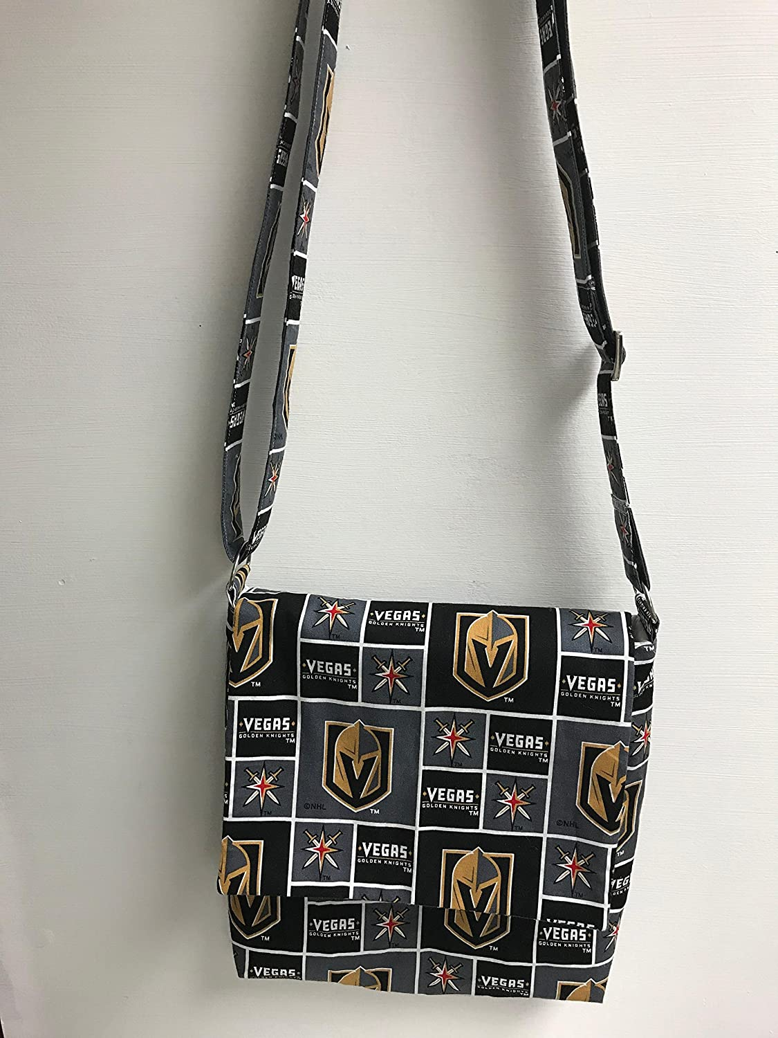TheChampion: Vegas Golden Knights Messenger Bag