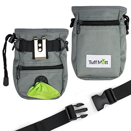 Professional Dog Treat Pouch Bag Holder With Secure Closure Waste Poop Bag Dispenser Waist Belt Strap For Training Dog Toys M Pet Products Home & Garden