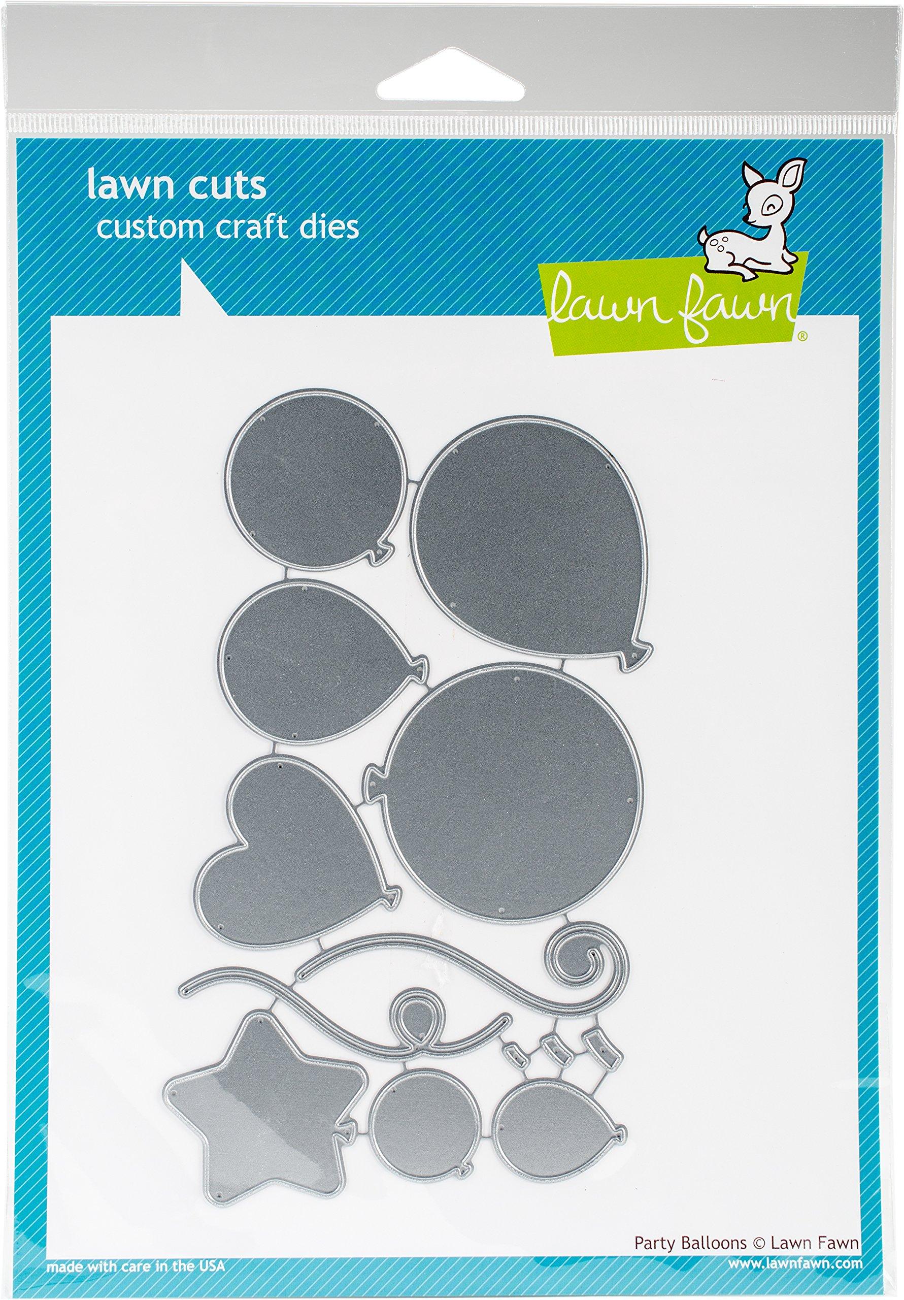 Lawn Fawn Cuts Party Balloons Universal Custom Craft Cutting Dies Lf856